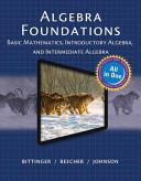 Mymathlab For Bittinger Algebra Foundations Book PDF