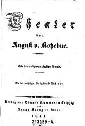 Theater von August V. Kotzebue