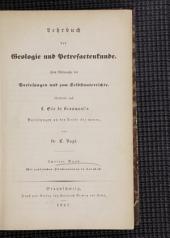 Lehrbuch der Geologie und Petrefactenkunde: Band 2