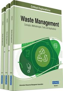 Waste Management  Concepts  Methodologies  Tools  and Applications PDF