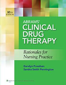 Abrams  Clinical Drug Therapy PDF