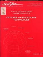 Catalysis and Biocatalysis PDF