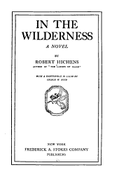 In the Wilderness: A Novel