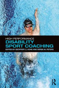 High Performance Disability Sport Coaching Book