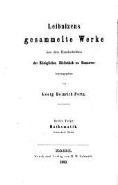 Mathematische Schriften: Band 7