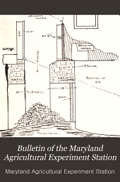Bulletin of the Maryland Agricultural Experiment Station: Issues 121-145