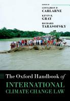 The Oxford Handbook of International Climate Change Law PDF