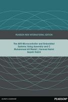 AVR Microcontroller and Embedded Systems  Pearson New International Edition PDF