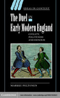 The Duel in Early Modern England PDF