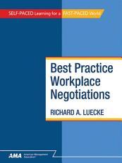 Best Practice Workplace Negotiations PDF