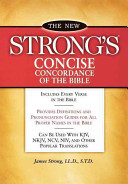 New Strong s Concise Concordance of the Bible Book