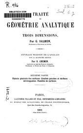 Traité de géométrie analytique a trois dimensions: Théorie générale des surfaces. Courbes gauches et surfaces développables. Familles de surfaces. 2a part, Page2