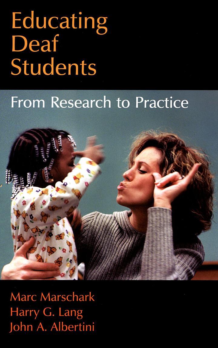 Educating Deaf Students