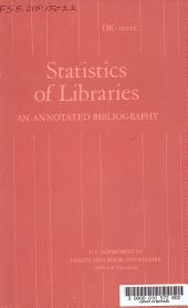 Statistics of Libraries PDF