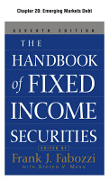 The Handbook of Fixed Income Securities  Chapter 20   Emerging Markets Debt PDF