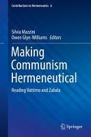 Making Communism Hermeneutical PDF
