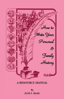 How to Write Your Personal   Family History PDF