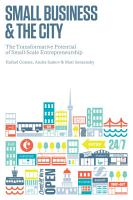 Small Business and the City PDF