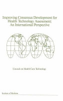 Improving Consensus Development for Health Technology Assessment PDF