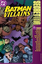 Batman Villains Secret Files (1998-) #1