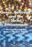 Genes  Behavior  and the Social Environment PDF