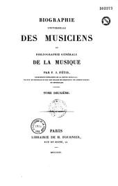 Biographie universelle des musiciens et bibliographie générale de la musique: Volume5