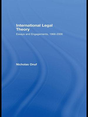 International Legal Theory PDF