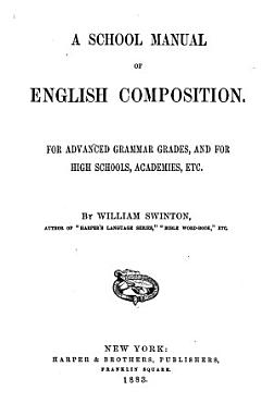 A School Manual of English Composition PDF