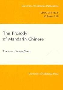 The Prosody of Mandarin Chinese PDF