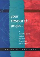 Your Research Project PDF