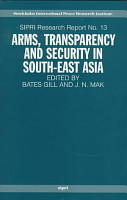 Arms  Transparency  and Security in South East Asia PDF