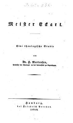 Meister Eckart PDF