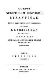 Procopius: Volume 1