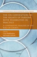 The Un Convention on the Rights of Persons with Disabilities in Practice PDF