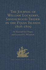 The Journal of William Lockerby, Sandalwood Trader in the Fijian Islands during the Years 1808-1809