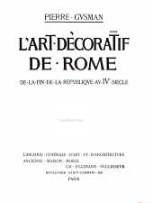 L'Art Decoratif de Rome