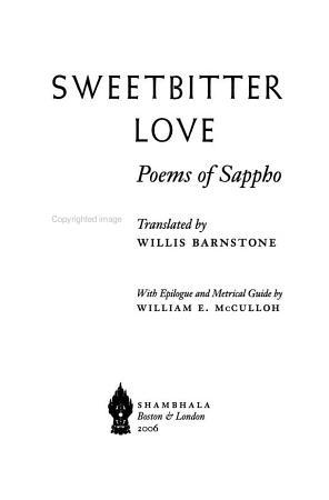 Sweetbitter Love PDF