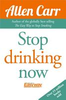 Stop Drinking Now PDF