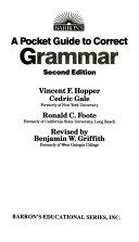A Pocket Guide to Correct Grammar PDF