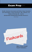 Exam Prep Flash Cards for Bundle  American Government and     PDF