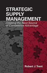 Strategic Supply Management