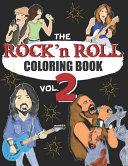 ROCK N ROLL COLORING BOOK   Volume 2 PDF