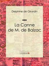 La Canne de M. de Balzac: Récit