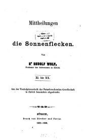 Astronomische Mitteilungen: Bände 11-20