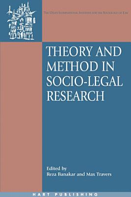 Theory and Method in Socio Legal Research PDF