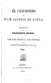 El cancionero de Juan Alfonso de Baena: Volúmenes 1-2