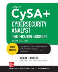 CompTIA CySA  Cybersecurity Analyst Certification Passport  Exam CS0 002  PDF