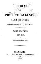 Histoire de Philippe-Auguste: Volume5