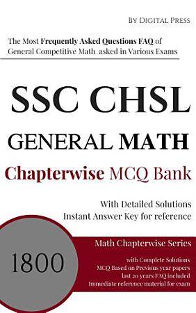 Math Chapterwise Solved Questions SSC CHSL HIGHER SECONDARY LEVEL PDF