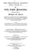 On Early English Pronunciation PDF